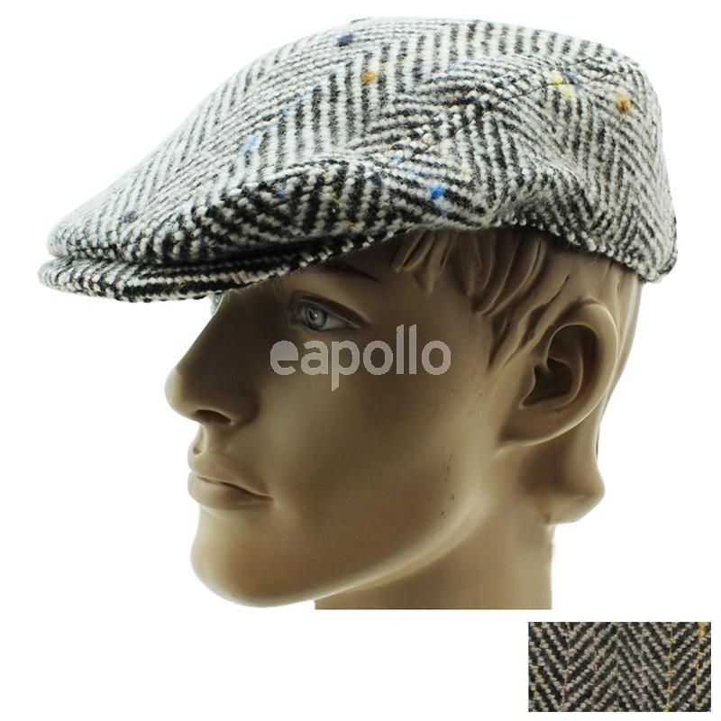 Wholesale Mens Herringbone Design Flat Cap - Assorted Colours ... 86b70c4d077