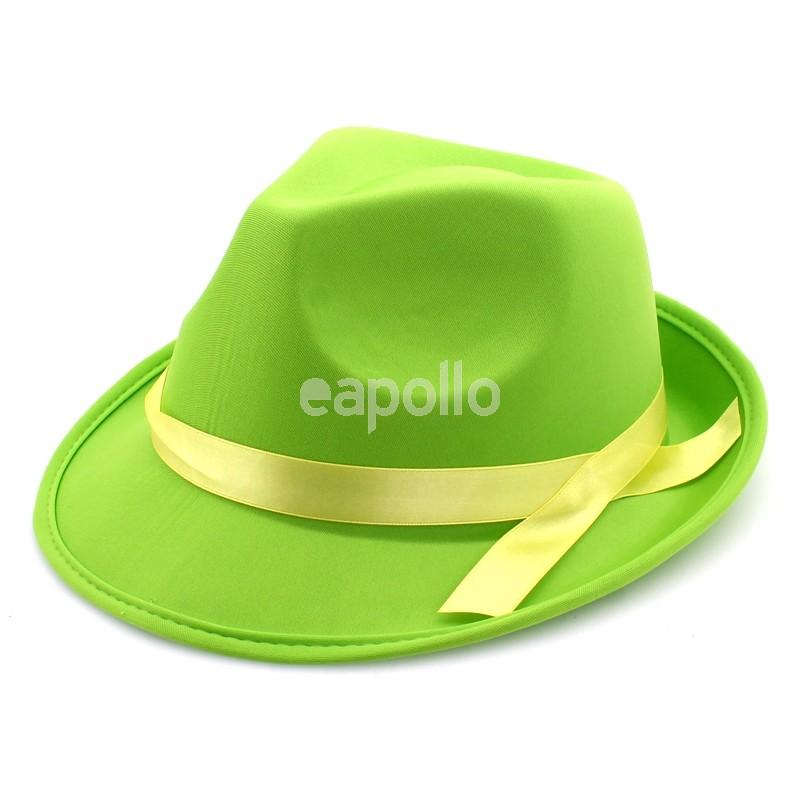 e8f82558d7 Neon Fashion Trilby Hat Assorted Colours