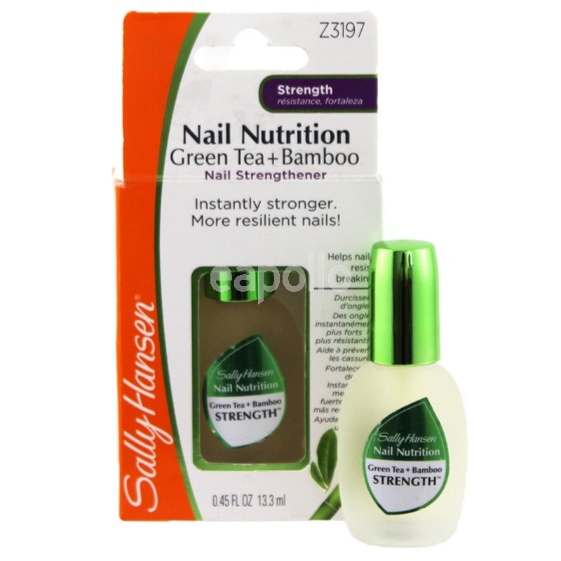 Sally Hansen Nail Nutrition Green Tea+Bamboo Nail Strengthener