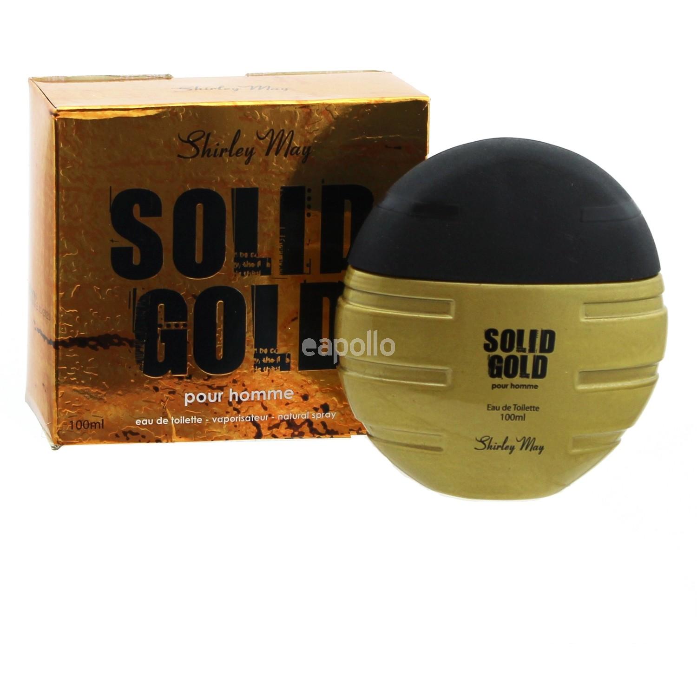 Shirley May Mens Eau De Toilette Solid Gold Uk Wholesaler