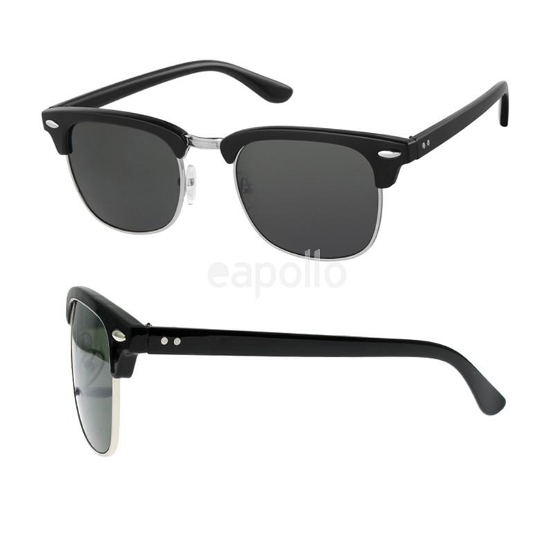 wayfarer sunglasses black frame lens apollo wholesale