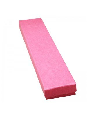 Long Fuchsia Pink Gift Box 21x4x2cm