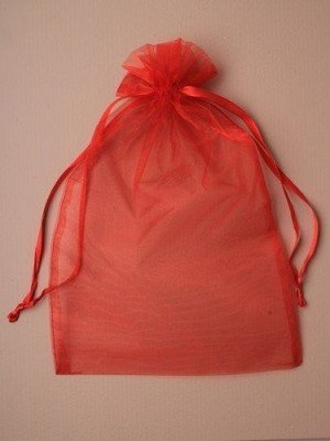 Organza Bags -Red (30 x 21cm)