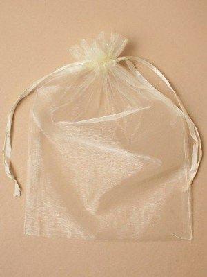Organza Bags -Ivory (30 x 21cm)