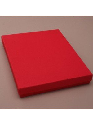 Large Gift Box Red (18cm x 14cm x 2.5cm)