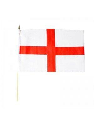 "St. George England Hand flag - 12"" x 18"""