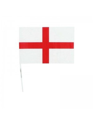 """Wholesale St. Georges England Hand Flag - 8"""" x 12"""""""