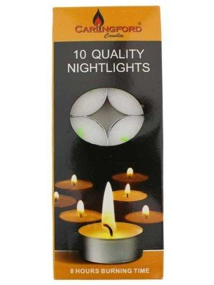 Wholesale Carlingford 10 Tealight Candles