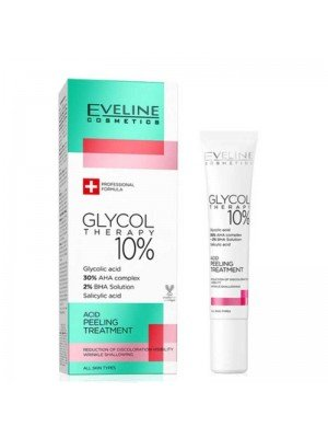 Wholesale Eveline Cosmetics Glycol Therapy 10% Acid Peeling Treatment-20ml