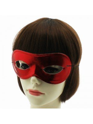 Shiny Eye Mask- Red