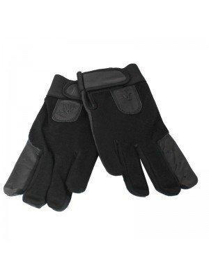 Unisex Leather & Spandex Nylon Driving / Motor Bikers Gloves- Dozen