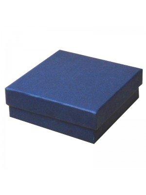 Sqaure Navy Gift Box 9x9x3 cm