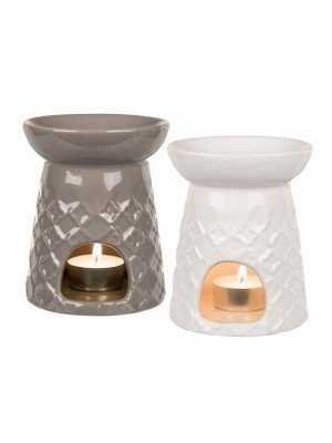 Wholesale Ceramic Oil Burner Jali Design - Assorted Colours
