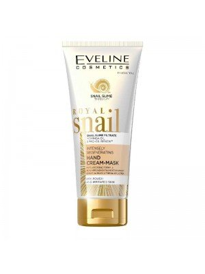 Eveline Royal Snail Intensely Regenerating Hand Cream Mask - 100ml