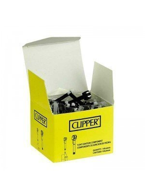 Wholesale Clipper Flint Ignition Component - 100 Pieces