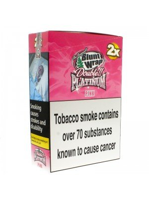 Blunt Wrap Double Platinum 2x - Pink