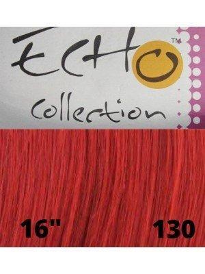 """Echo Human Hair Extensions - European Weave - Colour: 130 (16"""")"""