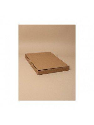Brown Card Fold Flat Box - 23x16x2cm