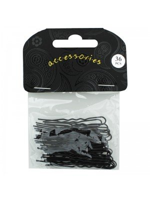 Hair Pin Set 4.5cm (Black)