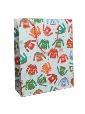 Christmas Jumper Gift Bag - Medium