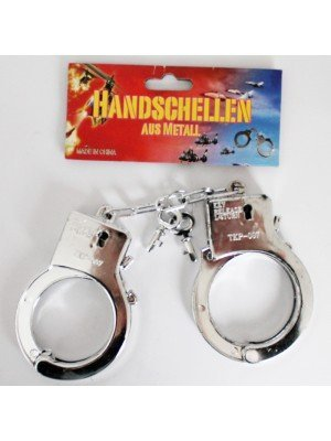 Plastic Handcuffs- Silver