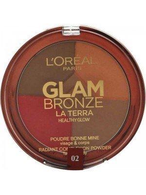 L'Oreal Glam Bronze La Terra Healthy Glow Complexion Powder - 6g
