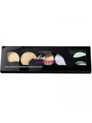 L'Oreal Infaillible Total Cover Concealer Palette