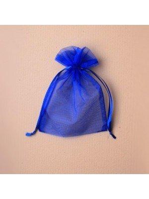 Organza Gift Bag - Blue (11x15cm)