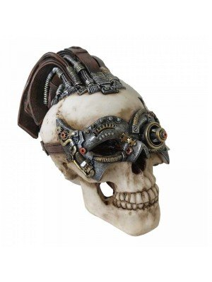 Wholesale Dreadlock Device Skull Figurine - 18.5cm