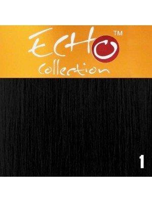 Wholesale Echo Human Hair Extensions - European Weave - Colour: 1