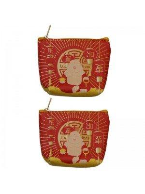 Wholesale Lucky Buddha PVC Coin Purse