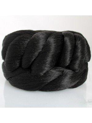Rose Bun (Natural Black)