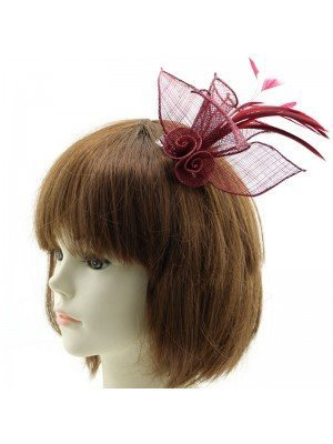 Flower Design Fascinators on Clip – Assorted Colours