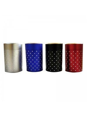 Wholesale Aluminium Stash Tobacco Tin Assorted Colours