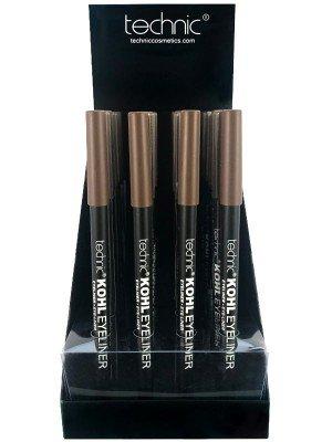 Wholesale Technic Kohl Eyeliner Pencil Tray - Brown