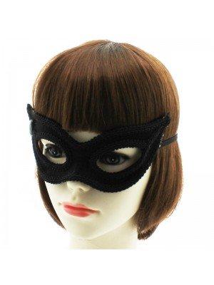 Eye Mask On Elastics- Black