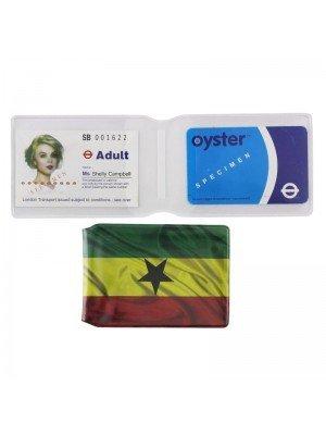 Wholesale Ghana Flag Design Travel Card Holder