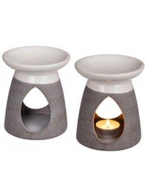 Wholesale Ceramic Oil Burner With Tear Shape-(Assorted Design)12.5 x 11