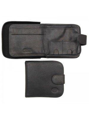 Men's Florentino Leather Wallet - Black