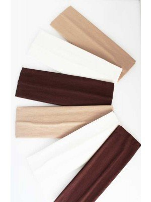 Wholesale Natural Plain 7cm Wide Headbands-Assorted Colours
