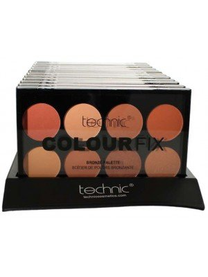 Wholesale Technic Colourfix 8 Colour Bronze Palette