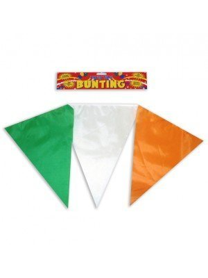 25 Pennants Irish Flags 7 Meters In Length