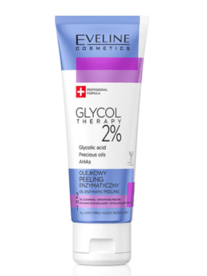 Wholesale Eveline Glycol Therapy 2 Oil Enzymatic Peeling 2in1 Cleansing Smoothing