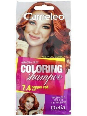 Wholesale Cameleo Colouring Shampoo - Copper Red (7.4)