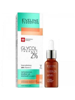 Wholesale Eveline Cosmetics Glycol Therapy 2% Vitamin Illuminating Treatment-18ml