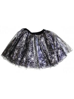 3-Layer Cobweb Design Tutu Skirt