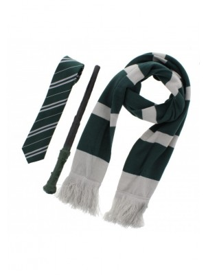 3 Piece Two Tone Wizard Set - Grey & Green