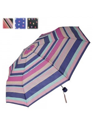 Wholesale Supermini Stripes and Spots Design Umbrella - Assorted Designs