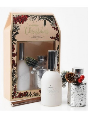Electroplated Diffuser & Room Spray Gift Set