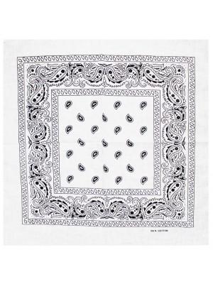 Paisley Bandanas - White